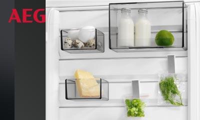 Aeg Kühlschrank A : Aeg kühlschrank mit customflex elektrogeräte im raum olsberg
