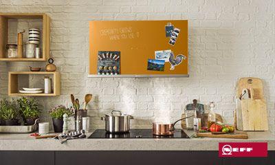 Kreative dunstabzugshauben von neff für kreative küchen